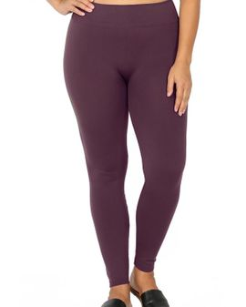 Zena  fleece leggings - Fjólu
