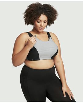 Double Layer Sport Bra - SVARTUR