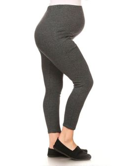 Gray pocket Curvy mama leggings