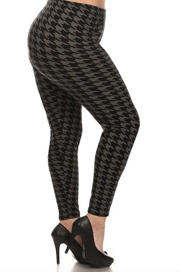 Houndstooth Soft leggings