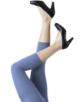Festival Microfiber kvartleggings - Dusty Blue
