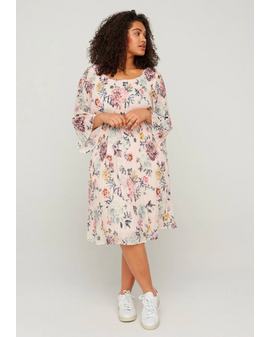 Zizzi Cathrine flower dress