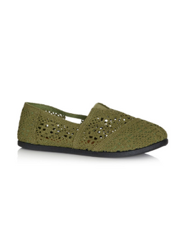 Wide Fit Halley - Olive
