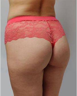 Queen Bae Brazilian Pants - Coral pink