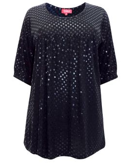 THEA  glans tunic top