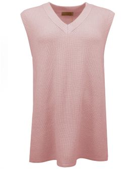 Cassiopeia UNNICA Long Vest - ROSE