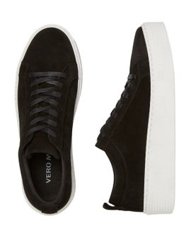 VERO MODA CURVE Leather Sneakers