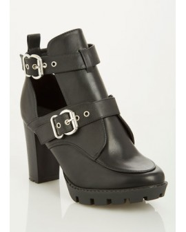 Double Buckle bootie - WIDE