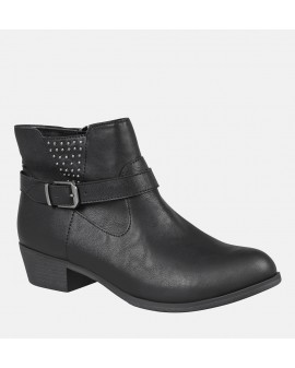 Svört Paris Booties - Wide fit