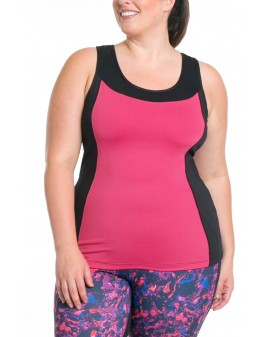 Sandy Sport bra top - Bleikur