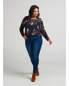 Zizzi Amy Regular - Denim