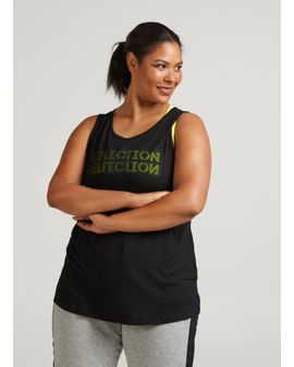 ZIZZI Reflection active top