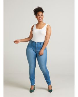 ZIZZI JANNA Jeggings - Light blue denim