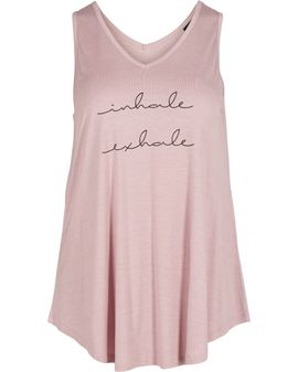 Zizzi Inhale tank top - Pink