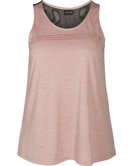 ZIZZI Active Pale MAUVE top