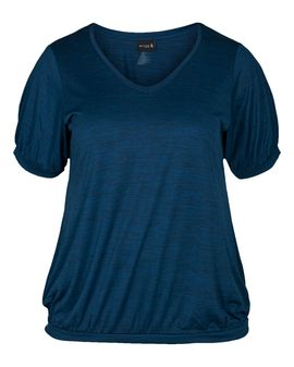 ZIZZI ACTIVE SAN top - Legion Blue