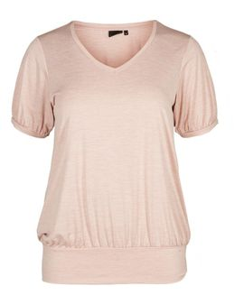ZIZZI ACTIVE SAN top - PALE PINK