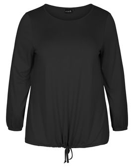 ZIZZI ACTIVE day top - Svartur