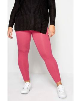HOT PINK soft leggings