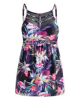 Tropical Flamingo Tankini