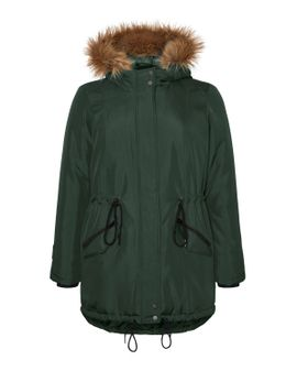 Junarose Expedition Parka - Forest green