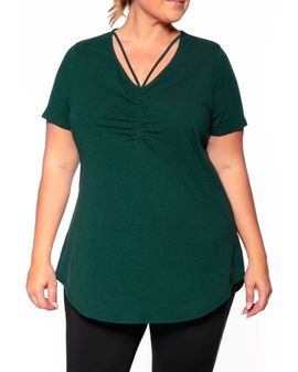 Maise Active Tee - Evergreen
