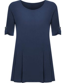 Button Swing Toppur - Navy