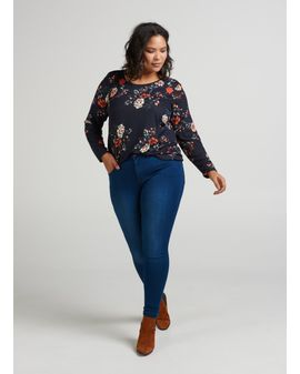 Amy classic REGULAR - Denim