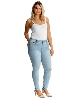 Nouvelle ripped jeans - Light Blue