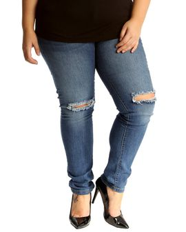 Nouvelle ripped jeans - Med Denim