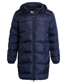Císó Padded Coat - NAVY blue