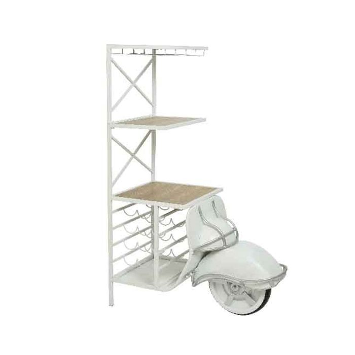 Decoris-Járn Scooter -Wine rack 55x152 (