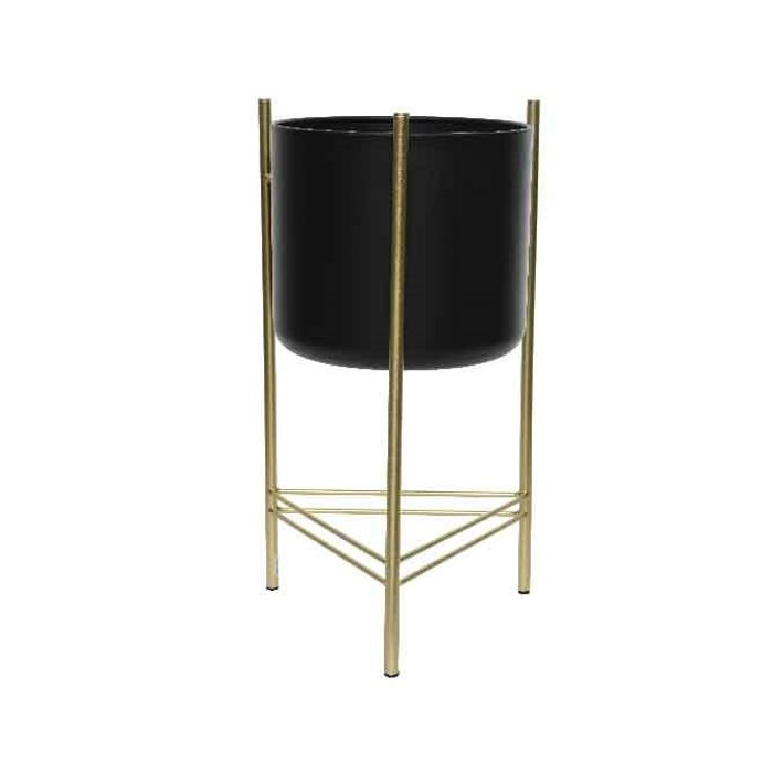 Decoris-Pottur á standi Gold 51cm. (2)