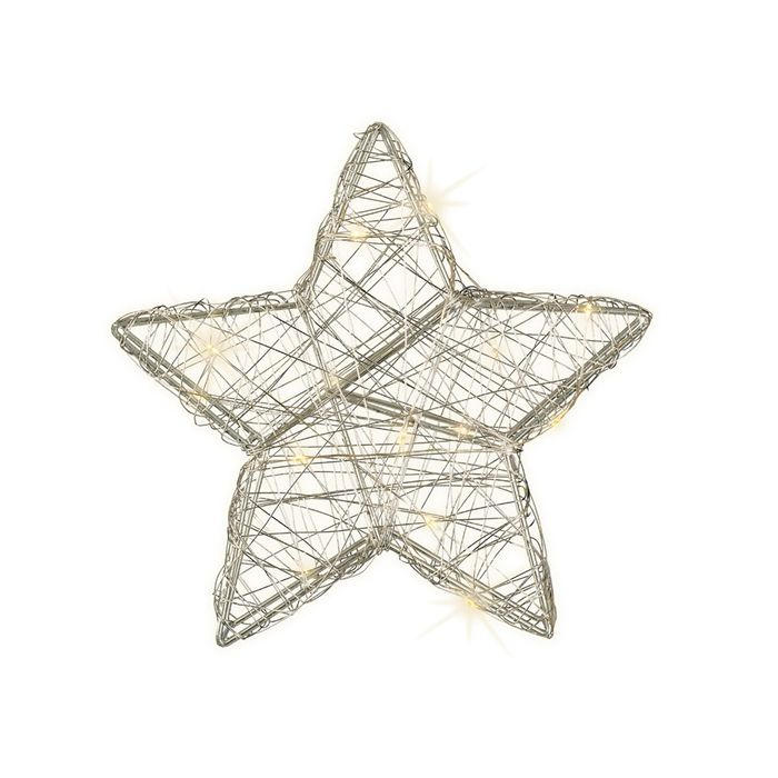 Decoris-Micro LED STAR 20cm.15L.(24)