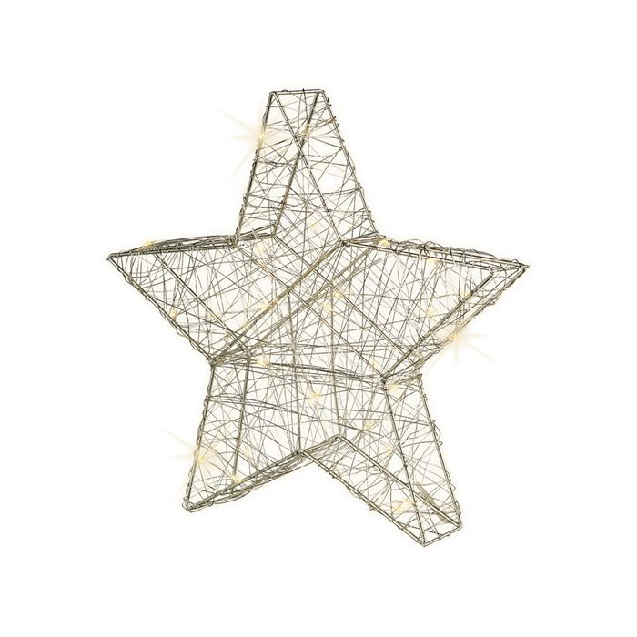 Decoris-Micro LED STAR 30cm.30L.(12)