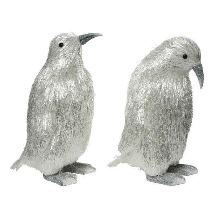 Decoris-PET Penguin  2teg 35cm.(2)