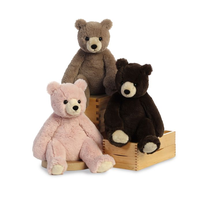 Bears-Harry Bear Mocha 30cm.(6)