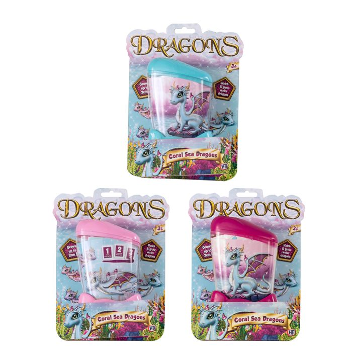 Growing Dragons 3-teg. (12)