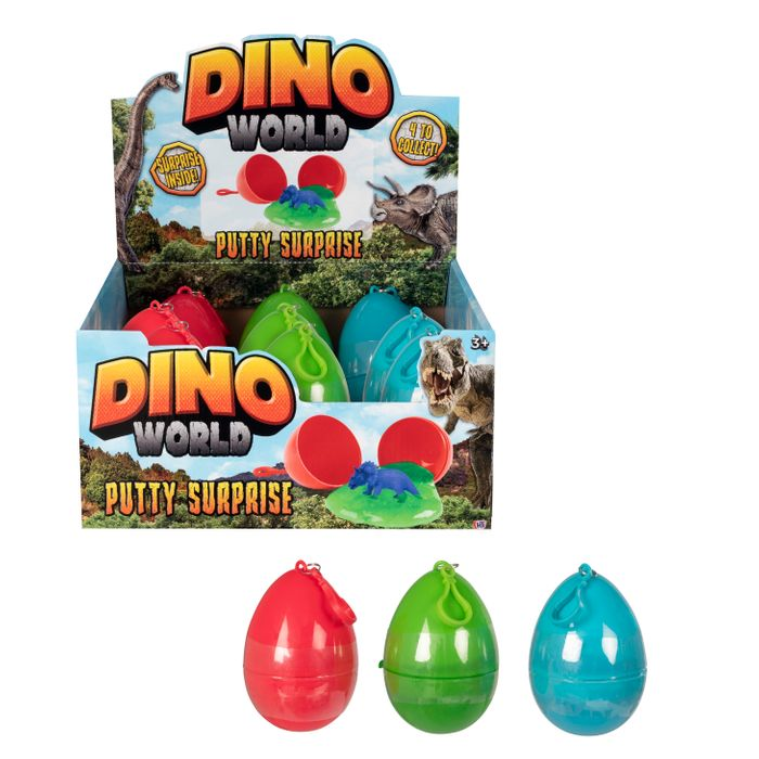 Dino-Egg Putty suprice Disp-9