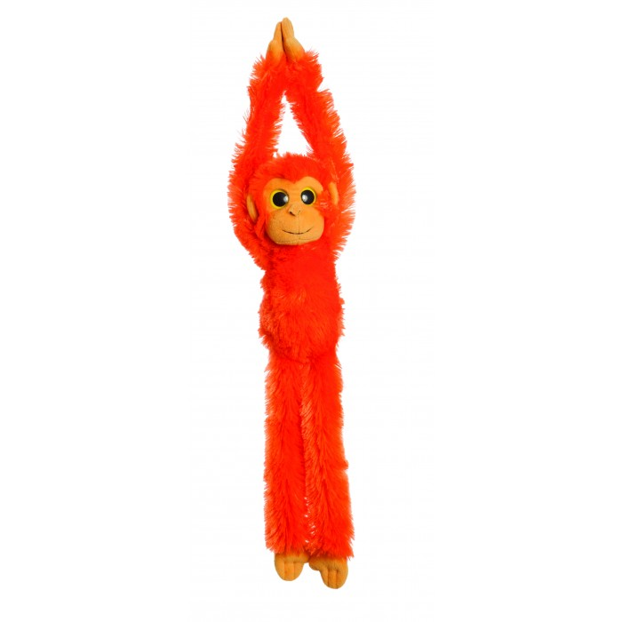 Hanging Monkeys - Orange 49cm.