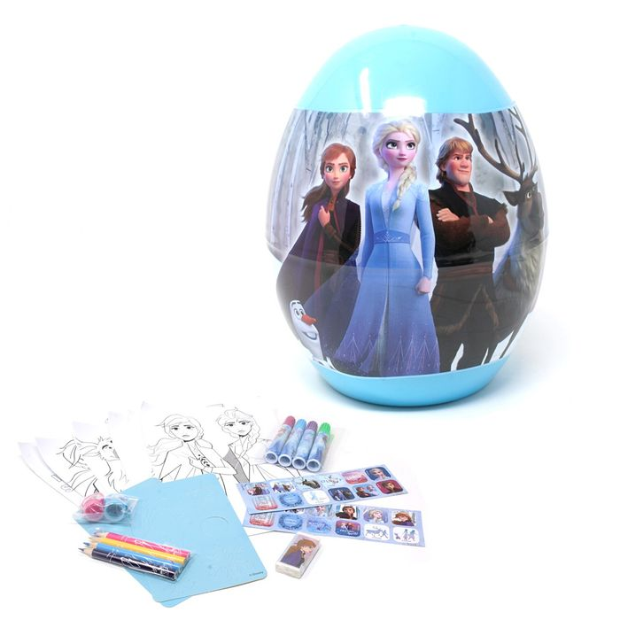 Frozen- EGG Stationery Surprise 22cm.(12