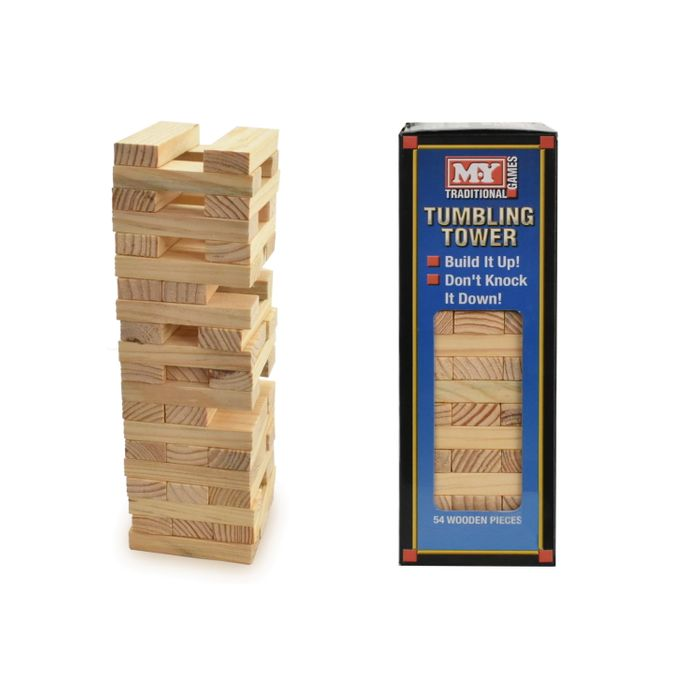 Wooden Tumbling Tower Spil (24)
