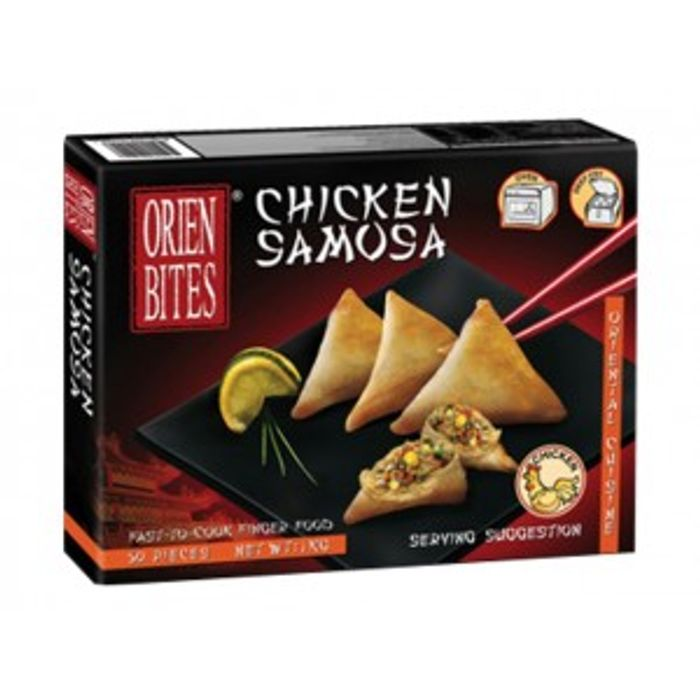 Cocktail Samosa-Kjúkl 1kg. (1/12) .