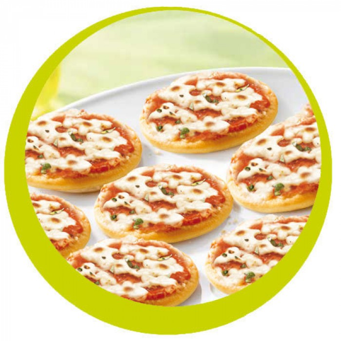 Mini-Pizza Margartíta 30gr. 36stk.Ks (1)