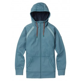 Burton Women's Crown Bonded Full-Zip Hoodie