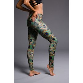 Onzie Long Legging Peacock leggingsbuxur
