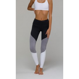 Onzie High Rise Track Legging Slate Grey Leggingsbuxur