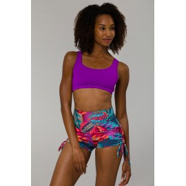 Onzie Mudra Bra Electric Purple toppur