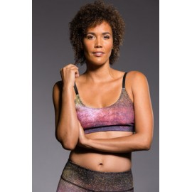 Onzie Graphic Elastic Bra Night Falls