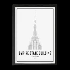 Wijck Empire State - Plakat - 50 x 70